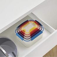 Prime会员专享,微波炉可用:英国Joseph Joseph 食品保鲜盒10件组合装