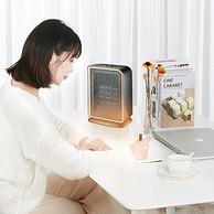 PTC陶瓷發熱、90度送暖:海納斯 小型家用暖風機取暖器SY-130B