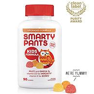 SmartyPants 儿童多种复合维生素软糖 90粒