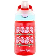 单手开启 不漏:Contigo 康迪克 儿童吸管杯 414mL