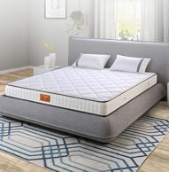 双11预售: SLEEMON 喜临门 星空 椰棕弹簧床垫 180x200x21cm