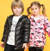 90%白鸭绒:史努比 儿童羽绒服