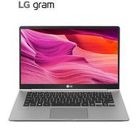 23.5小時續航、995g超輕:LG gram 14寸 筆記本電腦(i5-8265U、8G、256G、雷電3)