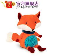 史低!比乐 B.Toys 语音发声 毛绒狐狸公仔玩具+凑单品