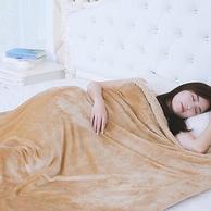 艾咪 雙層加厚 珊瑚絨保暖毛毯 1.0x1.2m
