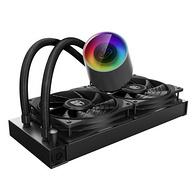 双11预告,动态防漏黑科技+幻彩RGB:九州风神 堡垒240 CPU水冷散热器