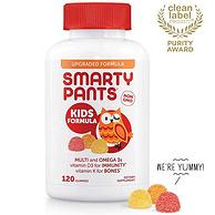 Prime专享:120粒x3瓶 SmartyPants/猫头鹰 儿童多种复合维生素软糖
