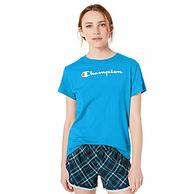 史低白菜價!Prime專享:Champion/冠軍 女士 經典針織短袖T恤