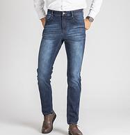 2条,持平单条价,红豆旗下 相思鸟 男士牛仔裤