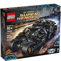收藏级、1869片!LEGO 乐高 76023 超级英雄系列 蝙蝠侠战车(已停产)