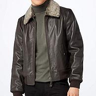 M码、100%牛皮,经典美国皮衣品牌:Schott NYC LC930D 男士真皮夹克