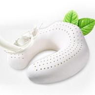 泰国进口乳胶原液,眠度 后托式加强款 U型乳胶护颈枕31x31x13cm