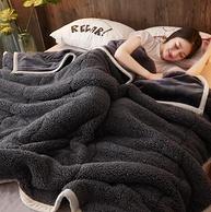 千絲雪 法蘭絨羊羔絨雙層毯子 150x200cm