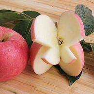 不甜包赔、坏果包赔:恬果馨 糖心红富士苹果 净重5斤