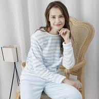 Plus專享:京東京造 女士珊瑚絨睡衣套裝