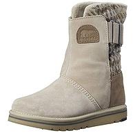 可抗-20℃!Sorel 北极熊 Newbie 女士雪地靴
