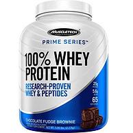 每份提供25g优质蛋白,MuscleTech 肌肉科技 Prime系列 100%乳清蛋白粉 巧克力味 2.27kg