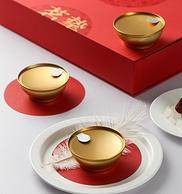 希尔顿国际酒店供应商,茗挚 即食冰糖燕窝100gx5碗 礼盒