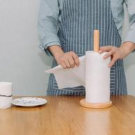 小米生态链,吸水吸油不掉屑:柚家 75节x2层x10卷 竹浆厨房洗碗纸巾