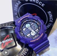 19年新款、防磁防震,200米防水:Casio卡西歐 G-Shock系列 男士多功能石英手表 GA-140-6AER