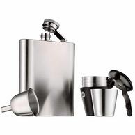 WMF/福騰寶 Manhattan 亞光不銹鋼酒杯酒壺6件套