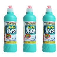 27日0点:免刷洗、99.99%祛菌!Kao 花王 马桶除污清洁剂 500mlx3瓶