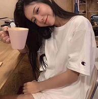 美版 Champion冠軍  刺繡LOGO 男女情侶款T恤