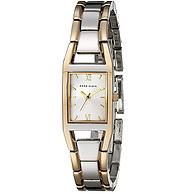 ANNE KLEIN 女式雙色手鏈手表