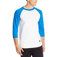 史低!Prime會員專享:Champion/冠軍 男士  Raglan棒球運動衫T恤
