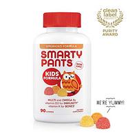 黑五、2.5倍差价:SmartyPants 儿童多种复合维生素软糖 90粒