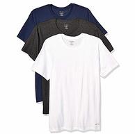 黑五,Prime專享:3色3件 Calvin Klein/卡爾文·克萊恩 棉質T恤