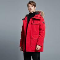 第17期國內團、零下30度、白鵝絨充絨200g:網易嚴選 地表強溫工裝羽絨服
