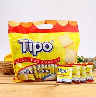 新低!越南進口,Tipo 牛奶面包干 300gx10包