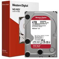 歷史新低、4T:Western Digital 西部數據 紅盤 WD40EFRX 臺式機械硬盤