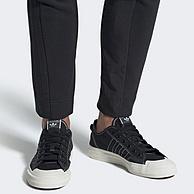 白色,adidas阿迪达斯 Originals NIZZA RF 中性休闲鞋
