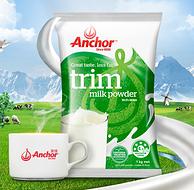 新西兰原装进口 安佳 脱脂奶粉 2斤