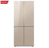 低于双11、历史低价: KONKA 康佳 BCD-458EBX4S 十字对开门冰箱 458升