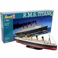 威望/利華 REVELL 泰坦尼克號百年紀念款 模型擺件 1:700