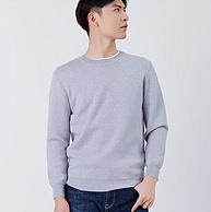 純美利奴羊毛、拉夫勞倫制造商:本米 男士 加厚圓領針織毛衣