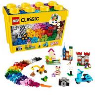 12日0:30、前2000件: LEGO 乐高 经典创意系列 10698 大号积木盒
