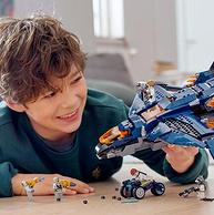 雙12預告:LEGO/樂高 復仇者聯盟 昆式戰斗機決戰版 838粒