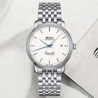 雙12預售: MIDO 美度 Baroncelli III 貝倫賽麗系列 M027.407.11.010.00 男士機械腕表