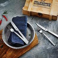 Prime專享:雙立人 西餐刀叉餐具套裝 6套12件裝