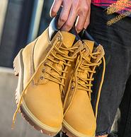 4.9分 防水鞋面 加絨款同價:駱駝 男女款復古馬丁靴