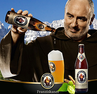 450mlx12瓶x2箱,Franziskaner 范佳乐 小麦啤酒