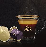 低过海淘!兼容Nespresso咖啡机,10粒x5盒+赠40粒,L'OR 浓缩胶囊咖啡 多种口味