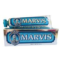 小编回购款!Marvis 玛尔斯 蓝色海洋薄荷牙膏 85mlx4支