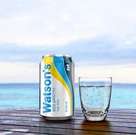 Watsons 屈臣氏 鹽味蘇打汽水 330mlx24罐x2件 + 梵凈靈水 天然礦泉水 600mlx15瓶