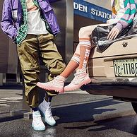 世界500强、踩屎感:固特异 男女 高帮帆布鞋