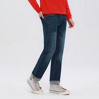 19日,商场同款:Lee/李 男士 中腰直筒休闲牛仔裤L12726Z021HV